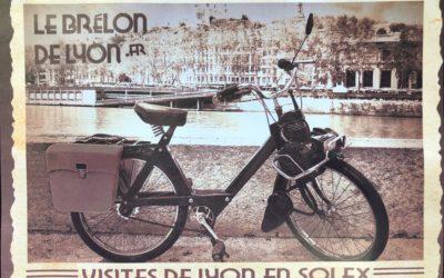 Visite de Lyon en Solex